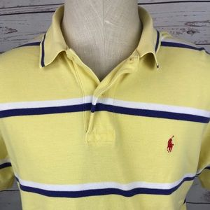 Polo Ralph Lauren short sleeve striped polo shirt